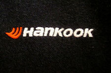 HANKOOK TIRES faded polo shirt XL embroidery South Korea logo Chosun