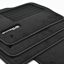 4 Carpet Floor Range Rover Evoque Cut Prestige Dynamic Mat Logo Specific