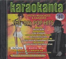 Michael Jackson Madonna Kim Carnes Buggles The 80s Pop Hits  Karaoke SEALED