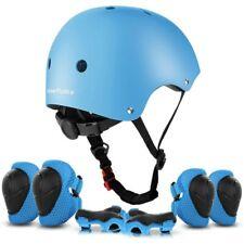 » ValueTalks Kids Bike Helmet and Pads Set Blue