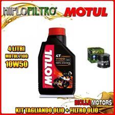 KIT TAGLIANDO 4LT OLIO MOTUL 7100 10W50 TRIUMPH 800 Bonneville T100 (Centennial