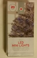 TARGET 20 BLUE LED STRING  LIGHTS Christmas length  Battery Operated NEW