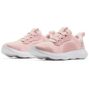 NIB Womens Under Armour 3023640-601 UA W VICTORY SPORT STYLE PINK/WHITE SHOES