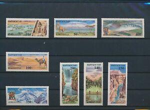 LO09123 Kyrgyzstan views landscapes nature fine lot MNH