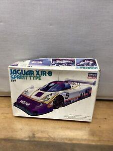 1987 Jaguar XJR-8 Silk Cut Sprint Type 1/24 Plastic Model Kit Hasegawa CC3 See D