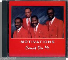 Motivations - Count On Me - New 1997 New Joy Gospel CD! Very Rare!