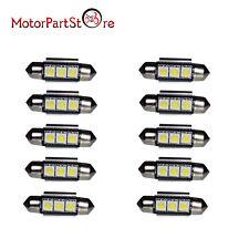 10 ampoule Navette LED C5W 36mm ANTI ERREUR CANBUS plafonnier plaque 6500k