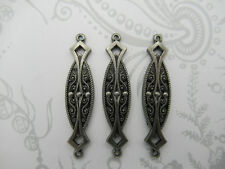 Vintage Style Connectors Antique Silver Filigree Links Chandelier Earring Parts