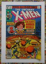 UNCANNY X-MEN #123 - JUL 1979 - ARCADE APPEARANCE! - HIGH GRADE - FN+ (6.5)