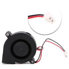 1 Pc Brushless DC Cooling Turbine Blower Fan 5015 24V 50*62*15mm Durable Hot