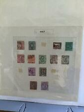 Italy stamps page R24311