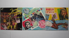 Lot 3 LP Jerry Lee LEWIS Charly 1974 - 76 Pumping Piano - Never Released Before