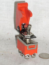 New Dpdt 15a Toggle Switch Hi Power Red Plastic Safe Flip Safety Cover Guard Usa