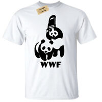 Kids Boys Girls WRESTLING PANDA T Shirt Funny