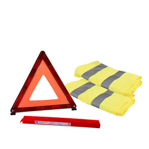 Hi Vis Vest Highly Visible Safety Vest Waiscoat Road Safety Warning Triangle