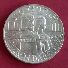 POLAND 1966 PROBA SILVER 100 ZLOTYCHY