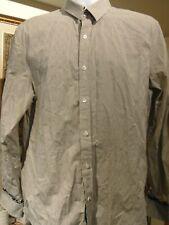 English Laundry Men's John Lennon Shirt paisley trim & flip cuff X-Large