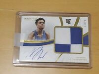 2019 Panini Immaculate PJ Washington RPA RC Auto 53/99 Rookie Autograph Patch