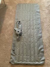 Exped Downmat Lite 5 M. Lightweight Camping Backpacking. Hand Pump Charcoal.
