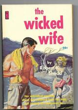 The Wicked Wife Robert Shedd Vintage Paperback NIL Adult Erotic