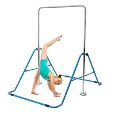 Kid Adjustable Horizontal Bars Gymnastics Training Bar Sport Kids Gym Equipment