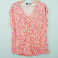 [ FLORENCE BROADHURST ] Womens Floral Print Top  | Size M or AU 12 / US 8