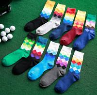 Men Women Cotton Stance Socks Combed  Colorful Socks Casual Dress Socks