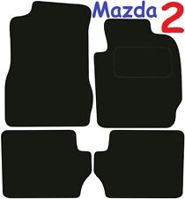 Mazda 2 Tailored car mats ** Deluxe Quality ** 2012 2011 2010 2009 2008 2007