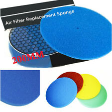 1x HKS 3Layer Super Car Filter Power Flow Air filter Replacement Cotton Pad Blue