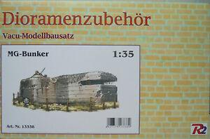 MG-Bunker, Dioramenzubehör , 1:35 , Vacu-Modellbausatz , R2 , *NEU*