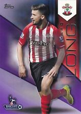 2014 Topps Premier Gold. Shane Long (Southampton) Purple 34/50