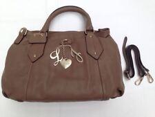 Liu Jo Damen Handtasche M Patty Leder braun A63290p0104-70909