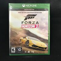 Forza Horizon 2 10 Year Anniversary Edition (Microsoft Xbox One) BRAND NEW