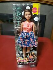 Mattel Barbie Fashionista #26 Spring Into Style Curvy Brunette, Hispanic Nib