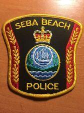 PATCH POLICE CANADA - SEBA BEACH ( ALBERTA ) - ORIGINAL!