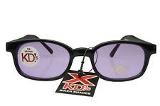 X KD's Sunglasses Original Biker Shades Motorcycle Black Purple 11216