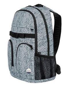 Roxy BACKPACK School Surf Travel Laptop Bag New - ERJBP03603 Black