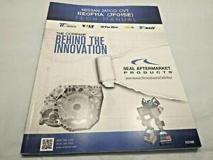 .For NISSAN JATCO CVT RE0F11A JF015E Tech Manual technical repair