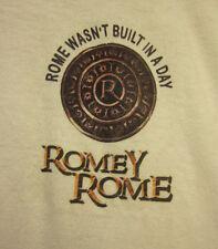 ROMEY ROME coin logo T shirt XXL Cleveland MC Lil Flip rap music OHIO tee 2XL