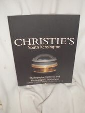 Christie's January  27, 2000 photographs, Camera Photographic Equipments