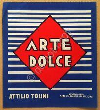 Stampa pubbicitaria - Arte Dolce - Attilio Tolini - Como - anni '50 / '60