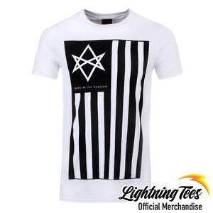 Official Bring Me The Horizon BMTH Antivist Band White T-Shirt