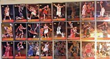 GREAT LOT OF 24-1996-97 TOPPS 5OTH ANNIVERSARY CHROME-LOADED WITH STARS & ROOKIE
