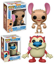 The Ren and Stimpy Show Nickelodeon POP! Animation #164 #165 Vinyl Figur Funko