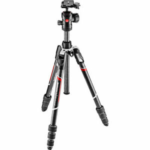 Manfrotto MKBFRTC4-BH Befree Advanced Carbon Fiber Travel Tripod w/ Ball Head