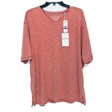 Tommy Bahama Tropicool Paradise V-Neck S/S Tee Shirt 2XL Island Zone Pink