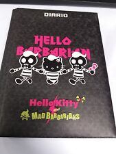 DIARIO HELLO BARBARIAN HELLO KITTY   NON DATATO