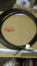 "KENWORTH PETERBILT MACK CABOVER MECHANICAL SPEEDOMETER CABLE 225"" TAG#1453736"