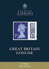 2021 Great Britain Concise Catalogue by Stanley Gibbons 9781911304869