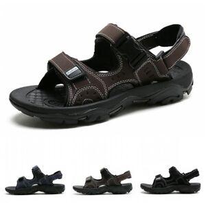 Mens Summer Sandals Walking Hiking Trekking Sports Beach Shoes Outdoor Casual B